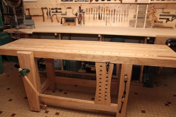 L'établi : l'équipement idéal pour un atelier
